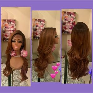 Human Hair blended lace front wig ❤️🔥❤️🔥❤️❤️